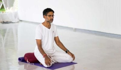 yoga india teacher
