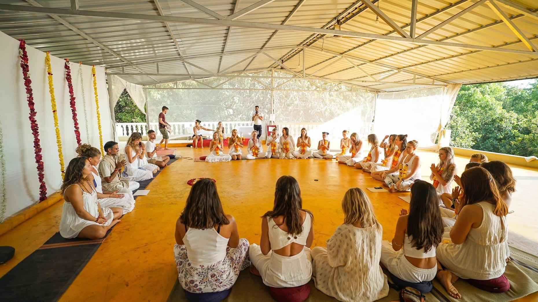 Sampoorna Yoga School in Goa India