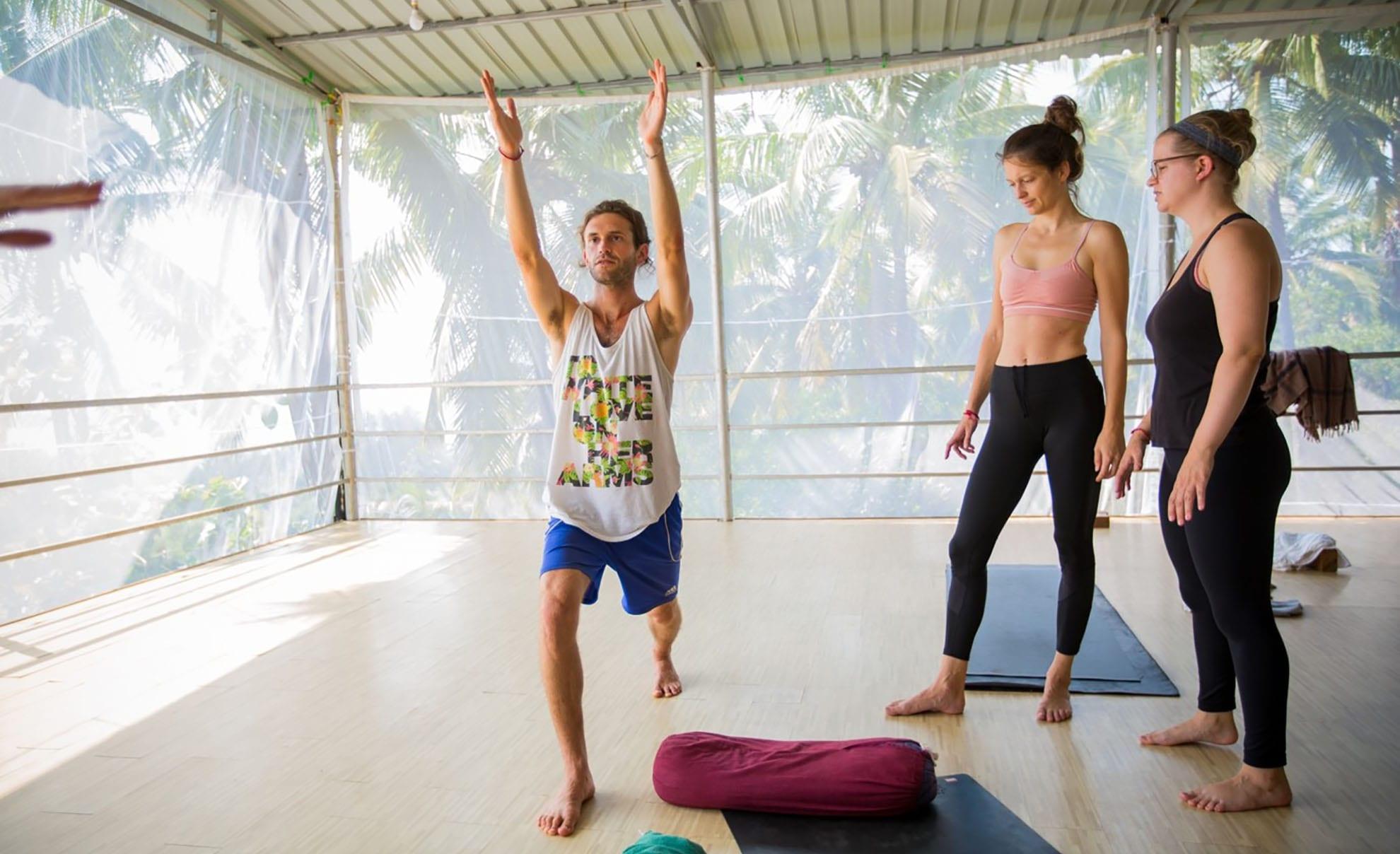 Become yoga teacher